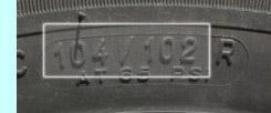 Belastningsindex dæk